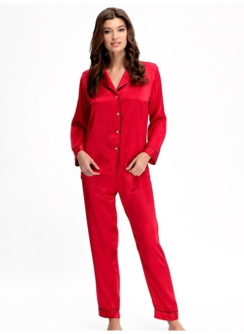 Ayyıldız Pijama Takım Kırmızı